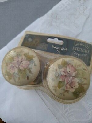 Porcelain Mortice Door Knobs House Of Rothley • 7£