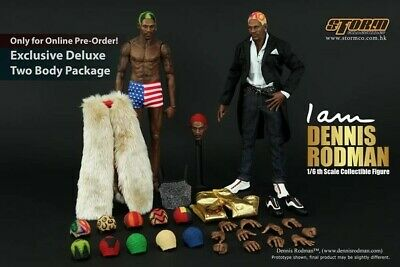 $400 • Buy Storm Collectibles Nba Dennis Rodman Exclusive Edition Enterbay Two Bodies