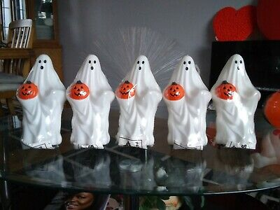 $ CDN123.73 • Buy NEW 5 Sealed Vintage Empire Blow Mold Ghost Torro Light Toppers 1995 10