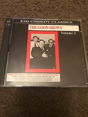 The Goon Shows Volume 2 - EMI Comedy Classics. 2xCD *RARE* Spike Milligan Etc • 19.99£