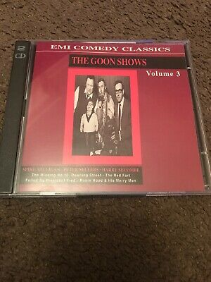 The Goon Shows Volume 3 - EMI Comedy Classics. 2xCD *RARE* Spike Milligan Etc • 19.99£