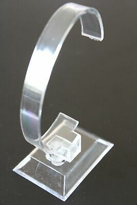 £8.49 • Buy Bracelet / Watch Display Stand - Clear Acrylic  - 2 Part Assembly - 10.5cm High