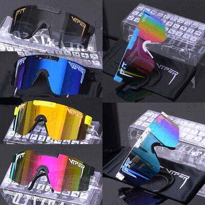 AU30.99 • Buy Pit Viper Polarized Cycling Sunglasses Sport Goggles For Men/Women Outdoor UV400