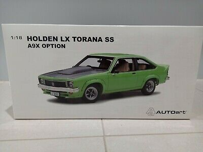 AU500 • Buy 1:18 Biante Holden LX SS A9X Torana Hatchback In Panama Green