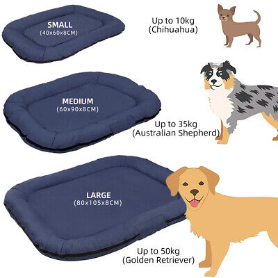 Waterproof Dog Mat Mattress Bed Cushion Chew Resistant Washable Warm Pet Basket  • 19.99£