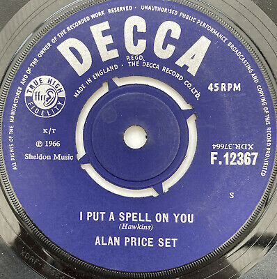 """Alan Price Set - I Put A Spell On You - 7"""" • 4.95£"""