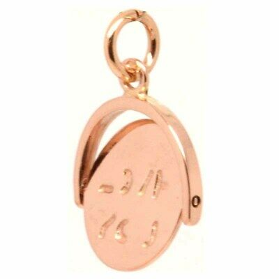 Gold I Love You Spinner Charm 9ct Rose Gold New • 154£