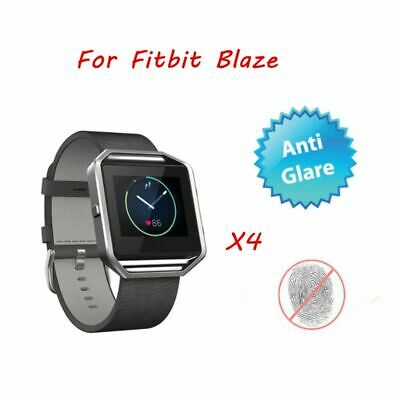 AU4.62 • Buy 4 PCS Anti-Glare Matte Screen Protector Shield Film Skin Guard For Fitbit Blaze