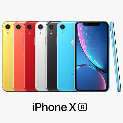 £419.99 • Buy NEW Apple IPhone XR 128GB Multi Colour 6.1  SIM-Free Smartphone With Accessories