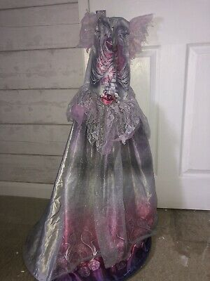 Zombie Bride Costume Kids Missing The Veil • 1.30£