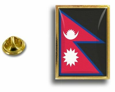 Pins Pin Badge Pin's Metal With Clip Butterfly Flag Nepal Hat And Mitten Set • 3.61£