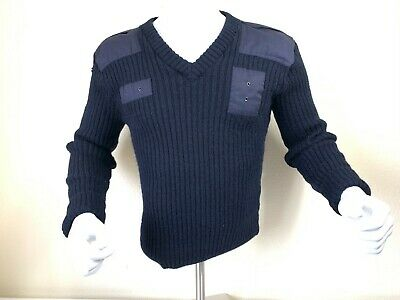 $24.95 • Buy VTG Blauer Sweater Pullover Military Crewneck Wool Blue Commando Made England M