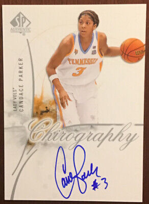 $ CDN303.28 • Buy Candace Parker WNBA 2010 SP Chirography Card Auto Signed Autograph