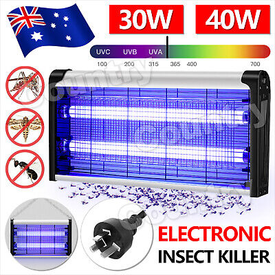 AU29.95 • Buy Electric UV Mosquito Fly Insect Pest Killer Bug Zapper Trap Lamp Inoutdoor Light