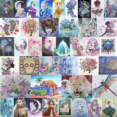 AU13.09 • Buy 5D DIY Special Shaped Diamond Painting Beauty Cross Stitch Embroidery Kits Decor