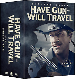 $61.89 • Buy HAVE GUN WILL TRAVEL: THE COMPLETE SERIES 35 DVD Box Set US SELLER !!!