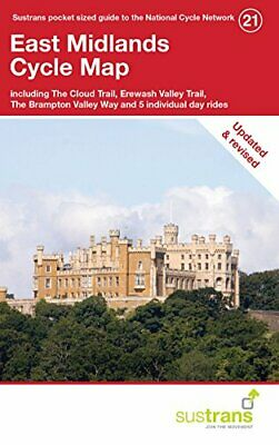 £6.78 • Buy East Midlands Cycle Map: Including The Cloud Trail Erewash Valley Trail The Bram
