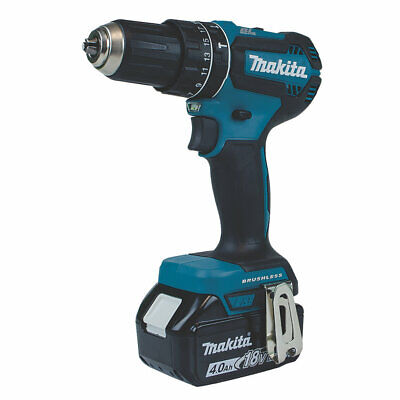 Makita Cordless Combi Drill DHP485SME 18V Li-Ion LXT 2 X 4.0AH With Case • 170.99£