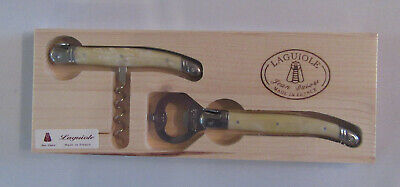 Jean Dubost Laguiole France Bottle And Wine Opener Corkscrew New • 15.92£