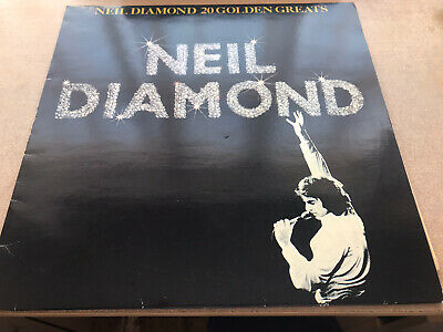 Neil Diamond 20 Golden Greats Vinyl Lp • 2.50£