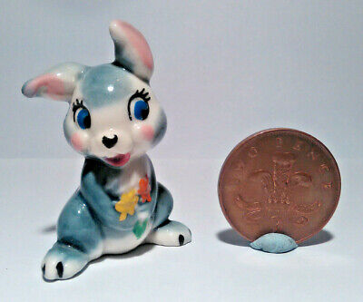 Wade Whimsies Disney Thumper Bunny Rabbit - 1st Issue Hat Box Series 1956-1965 • 13.99£
