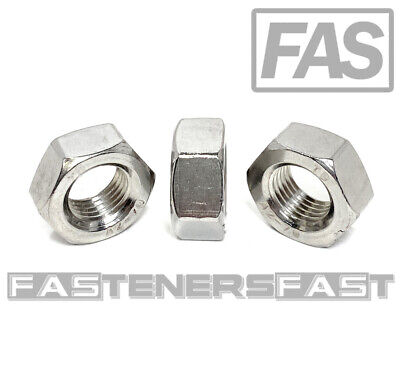 $8.68 • Buy (5) M14-1.50 Stainless Steel DIN934 Fine Thread Metric Finished Hex Nut A2