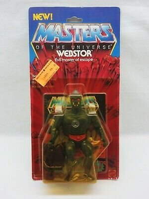 $495 • Buy MOTU,VINTAGE,WEBSTOR,Masters Of The Universe,MOC,carded,sealed,He-Man