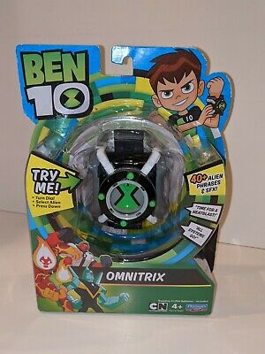 Playmate Toys BEN 10 Electronic (Omnitrix) Lights And Sounds 40+ Alien Phrases • 13.02£