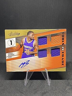 AU50.25 • Buy 2018-19 Absolute Tools Of The Trade Auto Relic /99 Mikal Bridges RC Suns Rookie