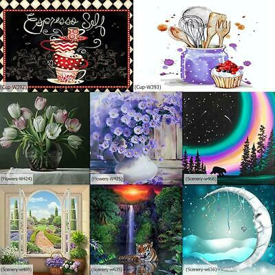 AU12.59 • Buy 5D DIY Full Drill Diamond Painting Cross Stitch Embroidery Mosaic Craft Kits AU