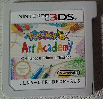 AU20 • Buy Pokemon Art Academy 3DS Game