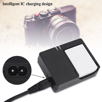 Battery Charger For Canon EOS 550D/600D/650D/700D Camera LP-E8 Battery Black ABS • 6.54£