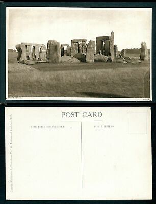 Stonehenge. Wiltshire. Photochrom Postcard. Uncirculated/Unused • 3.25£