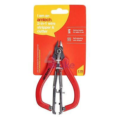 2 In 1 Wire Stripper & Cutter Electronic Assembly Pro Tool Fast Post • 8.06£