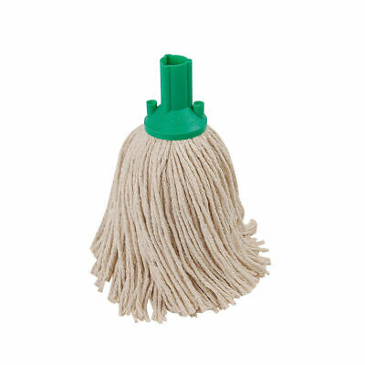 £3.99 • Buy Green Exel Socket Mop Head - 200gm 16PY - Pure Cotton Yarn - CHSA Approved