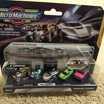 £15.50 • Buy Micro Machines 2020 Series 2 With Rare Silver Recluse Garage Icons #6 New Sealed