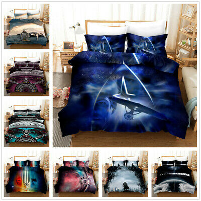 AU74.69 • Buy Star Trek3 3D Printed Bedding Set 2/3Pcs Duvet Cover & Pillowcase(s) UK6