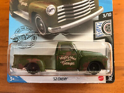 AU4.50 • Buy NEW 2020 Hot Wheels '52 Chevy Pickup Truck Rod Squad Series RARE Drag Racing