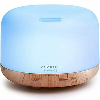 AU64.08 • Buy NEW BRAND 500ml Essential Oil Diffuser, 5 In 1 Ultrasonic Aromatherapy Fragrant