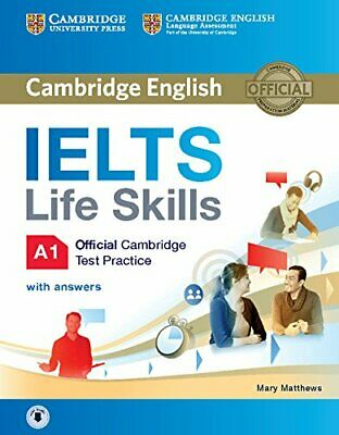 IELTS Life Skills Official Cambridge Test Practice A1 Student New Paperback Book • 13.43£