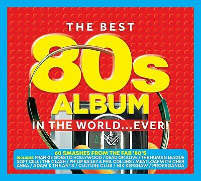 The Best 80's Album In The World... Ever! [Audio CD] Various Artists • 4.99£