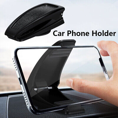£4.92 • Buy Car Phone Holder Dashboard Universal Washable GPS Navigation Phone Support Stand