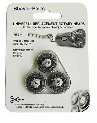 $ CDN45.17 • Buy Heads Replacement Philips HQ8,HQ9,HQ177 Remington Philips 1000 3000 S1 S3