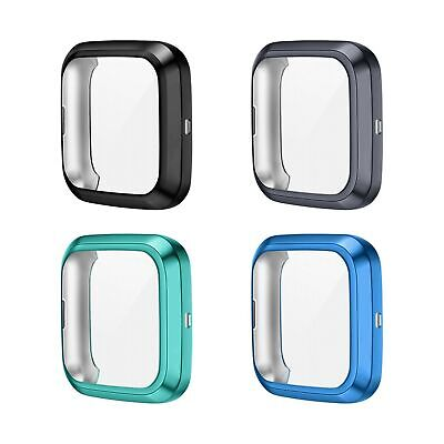 $ CDN13.33 • Buy KIMILAR 4-Pack Screen Protector Case Compatible With Fitbit Versa 2, TPU Rugg...