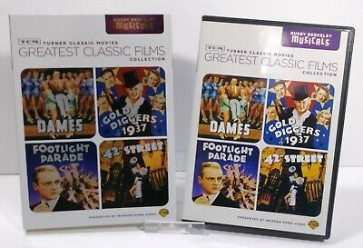 £10.90 • Buy TCM Greatest Classic Films Collection: Busby Berkeley Musicals DVD 2010 2-Disc