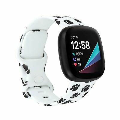 $ CDN12.13 • Buy CMIOUEO Compatible For Fitbit Sense And Fitbit Versa 3 Bands,Soft TPU Pattern...