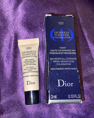 £3.99 • Buy FREE SHIPPING - Diorskin Forever Undercover 24H Foundation 020 Light Beige 3ml