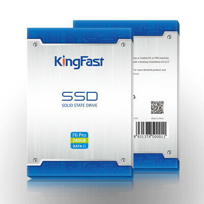 Kingfast  SSD  Internal Hard Drive  240 GB  &  512 GB & 1TB • 80£