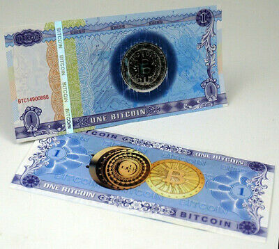 £2.65 • Buy One Bitcoin Paper Note ONE BITCOIN BTC Bills Souvenir Banknote Collection/Gift