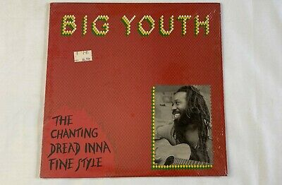BIG YOUTH  The Chanting Dread Inna Fine Style  12 Inch 33 1/3 Dancehall Reggae   • 21.70£